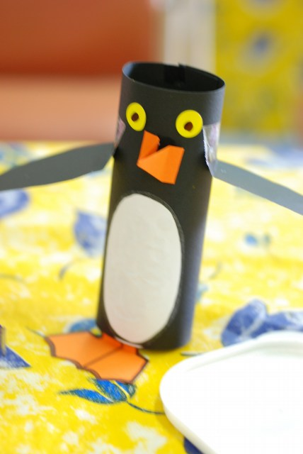 Winter Penguin Craft